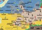 Wojska Ukrainy odci�y Donieck i tereny wok� od reszty terytorium kontrolowanego przez rebeliant�w [MAPY]