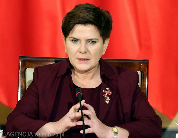 Beata Szyd�o, premier RP