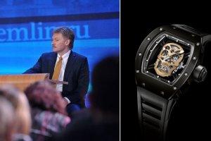 Skandal wśród zachwytów nad zdjęciami ślubnymi rzecznika Putina? Na ręku zegarek za 600 tys. dolarów