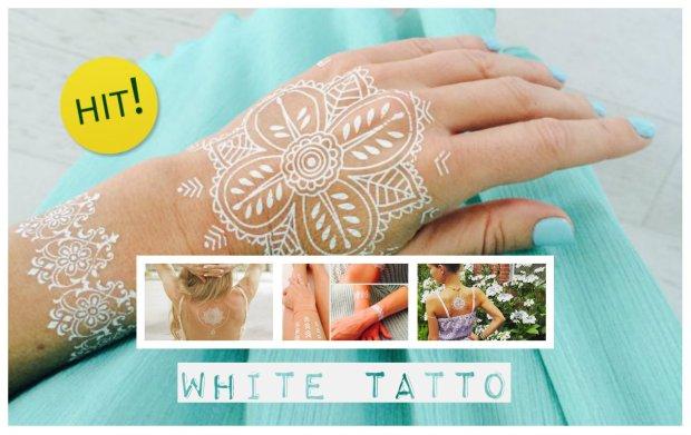 Bia�e tatua�e- zobacz o co chodzi i jak je zrobi�