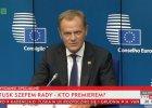 Donald Tusk szefem RE. Pierwsza konferencja: Nie ma rozs�dnej alternatywy wobec UE