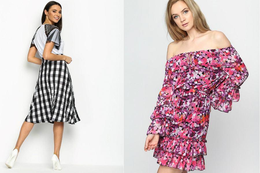 c9babdd80e Najpiękniejsze spódnice i sukienki we wzory