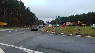 Przebudowa drogi A6