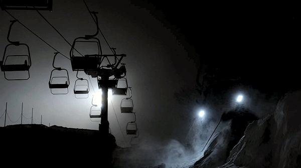 Kadr z filmu Skier's Journey 3 część pierwsza - Japonia