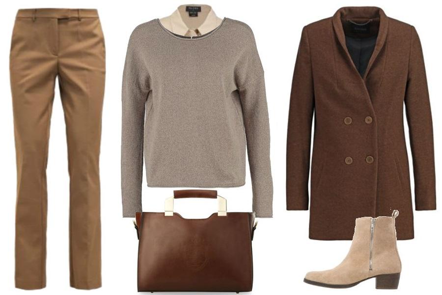 9649e1a8654bd0 Sweter i koszula - zestaw idealny na jesień