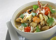Zupa z owoc�w morza - ugotuj