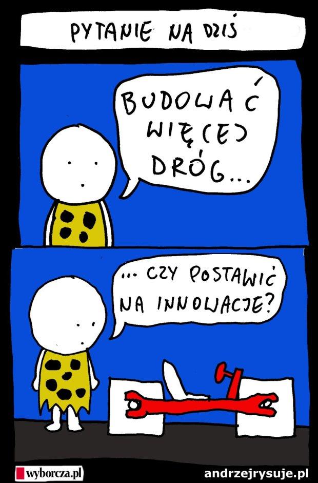 Andrzej rysuje   07-06-2015 - Andrzej rysuje dla Wyborczej.pl - 07.06.2015 -