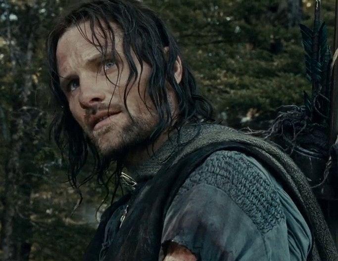Filmowy Aragorn z