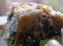 Lasagne szpinakowo-łososiowa - ugotuj