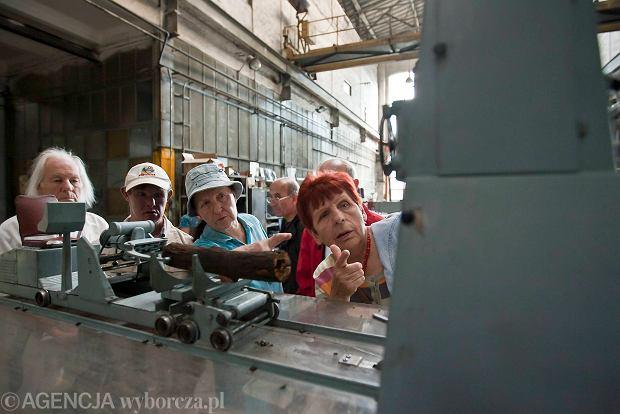 Zdjęcie numer 19 w galerii - Zwiedzali 150-letnią fabrykę obrabiarek na Wilczaku [ZDJĘCIA]