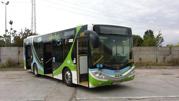 Nowy elektryczny autobus na testach w Warszawie