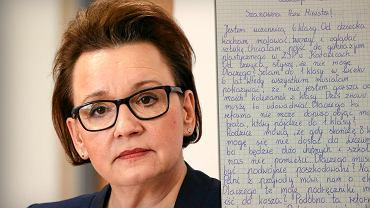 11-letnia Alicja napisała do minister Zalewskiej