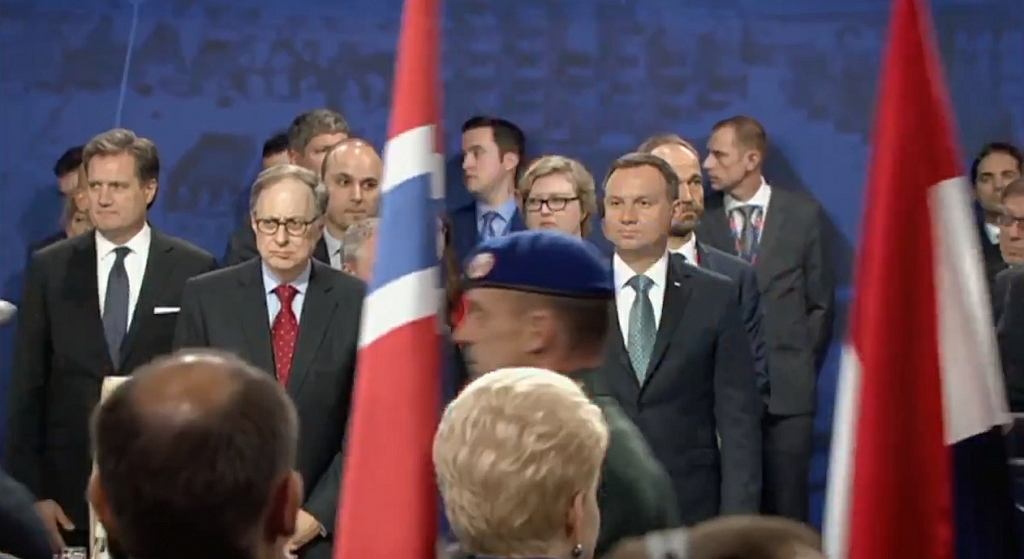 Andrzej Duda w spocie MON