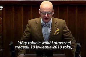 """Michał Kamiński: """"Co zrobiliście z pamięcią o tej tragedii, że dzisiaj tak wielu ludzi się z tego śmieje?"""""""