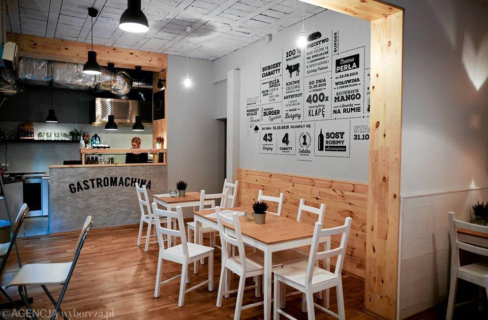 Restauracja Gastromachina przy Piotrkowskiej 89