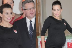 Anna Mucha spotka�a si� z prezydentem Bronis�awem Komorowskim i Pierwsz� Dam�!