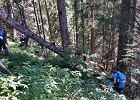 Makabryczne znalezisko w Tatrach. To szczątki mężczyzny w wieku 30-50 lat