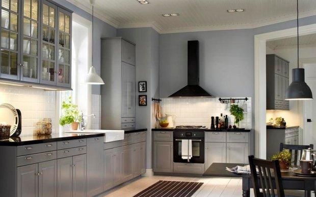 Szara kuchnia 15 modnych aranżacji  zdjęcie nr 2 -> Kuchnia Gazowa Szara