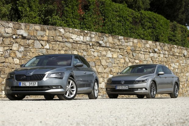 Skoda Superb vs. Volkswagen Passat | Konfrontacja | Wojna domowa