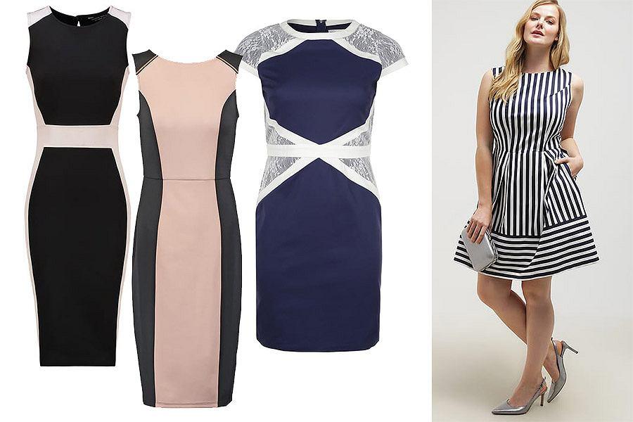 4d50766d8b Sukienki wyszczuplające - jakie wybrać   Moda plus size