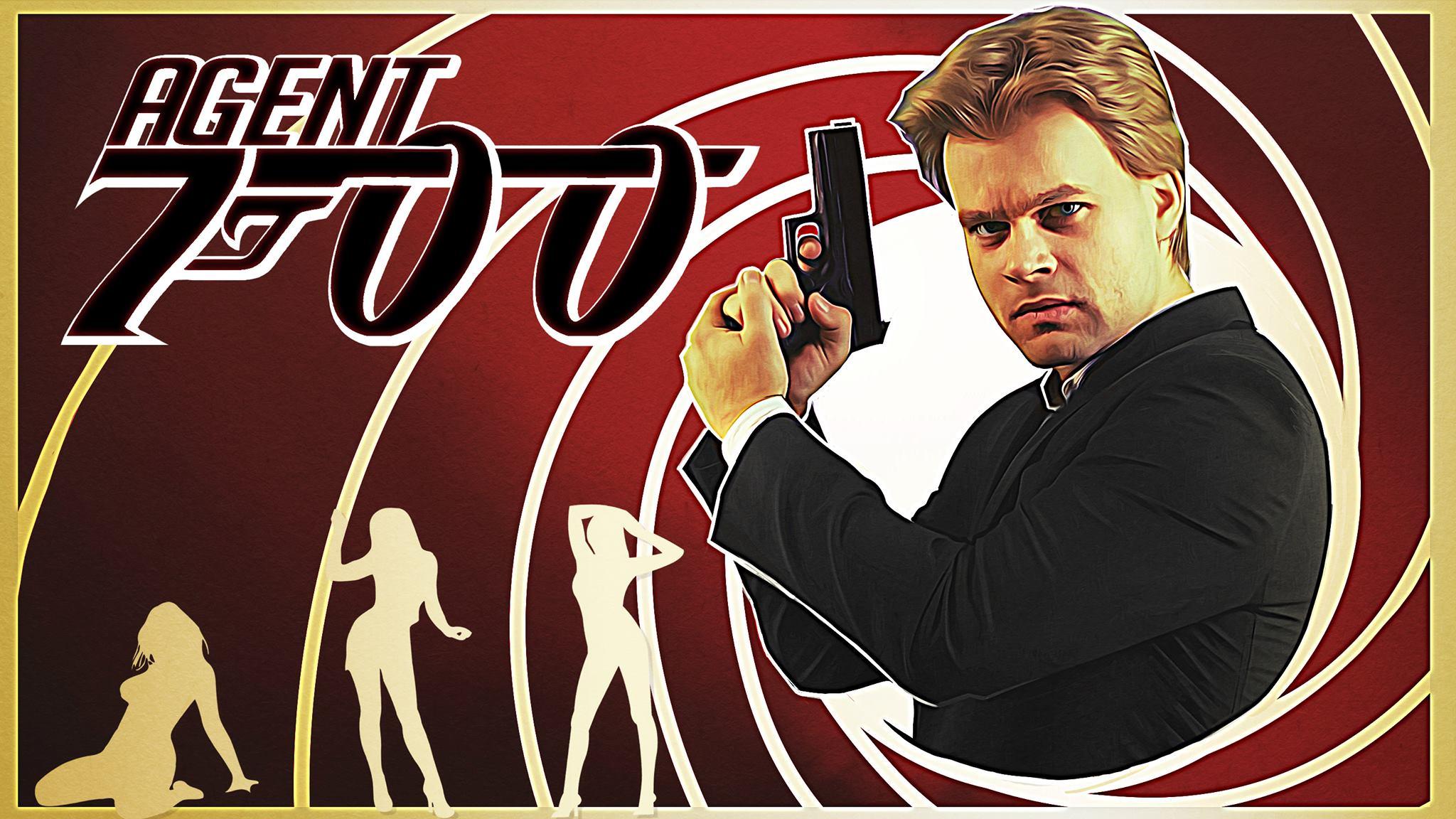 Jan Jurkowski jako agent 700 (fot. Grupa Filmowa Darwin)