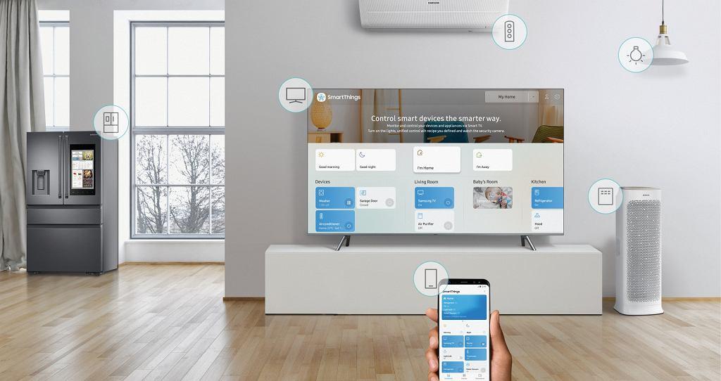 Samsung SmartThings daje kontrolę nad wszystkimi urządzeniami smart w domu z poziomu smartfona i telewizora