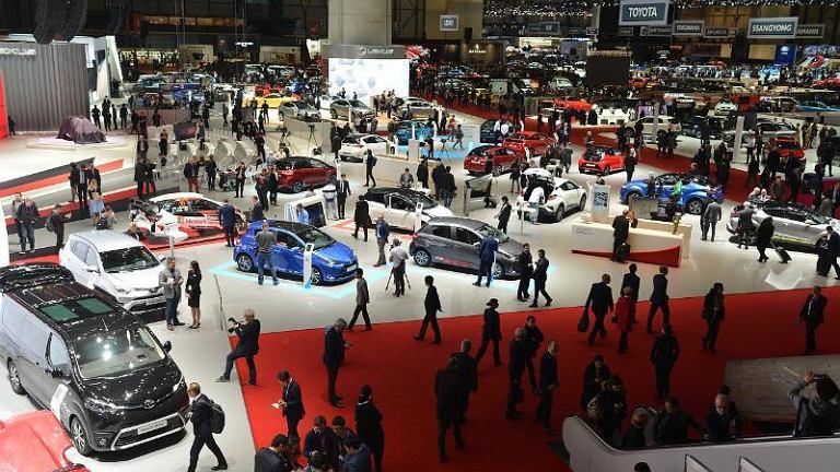 Geneva International Motor Show 2017 / Salon Samochodowy w Genewie 2017