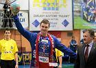 Nowy bramkarz Azotów - reprezentant Rosji Vadim Bogdanov z prezesem klubu Jerzym Witaszkiem