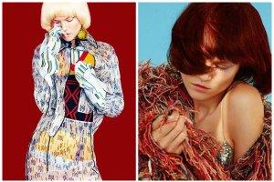 """Kasia Struss nie do poznania w sesji dla """"Harper's Bazaar"""". Modelka pozuje w czerwonej, różowej i błękitnej peruce, jest blondynką i brunetką [ZDJĘCIA]"""
