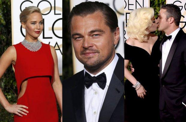 Zdjęcie numer 1 w galerii - Złote Globy 2016. Leonardo spotkał się z Winslet, Jane Fonda zaskoczyła kreacją. Tylu gwiazd na czerwonym dywanie nie widzieliśmy już dawno!