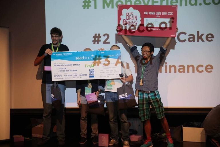 MoneyFriend na Startup Weekend Warsaw