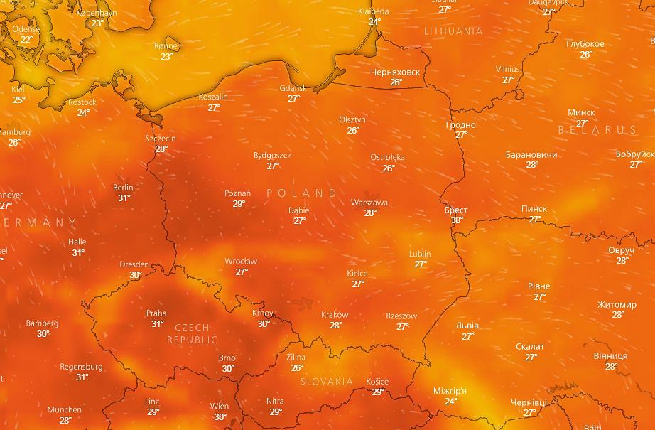 Pogoda w Polsce