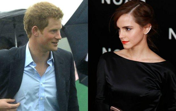 Książę Harry i Emma Watson