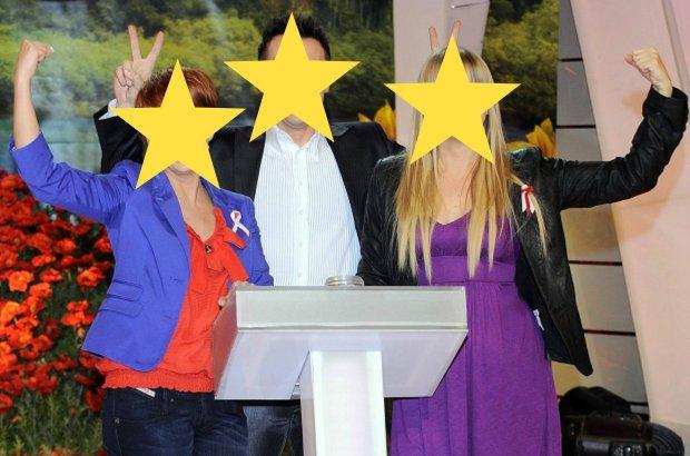 Katarzyna Zieli�ska, Maciej Kurzajewski i Marzena Rogalska