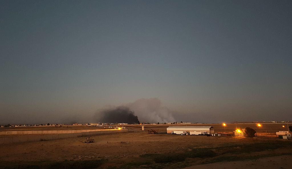 Granica Syrii i Jordanii na początku lipca, kiedy zgromadzili się tam uciekinierzy przed walkami w Daraa. W okolicy obozowisk doszło do pożarów