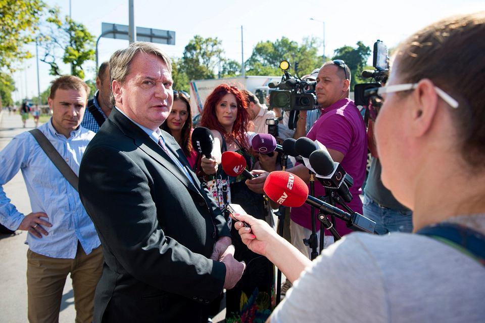 Europoseł węgierskiego Jobbiku Bela Kovacs