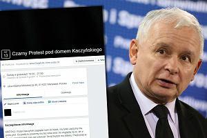 Po szokujących słowach Kaczyńskiego kobiety organizują Czarny Protest pod jego domem