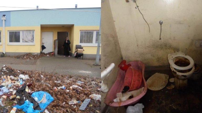 Prezydent pokazuje mieszkania socjalne. Sprzed 4 lat (nowe) i teraz (zdewastowane)
