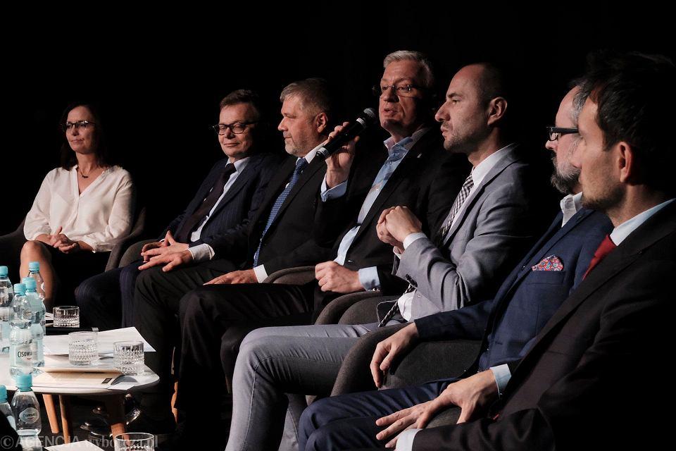 Debata prezydencka 'Wyborczej'. Na debacie spotkali się wszyscy kandydaci na prezydenta Poznania