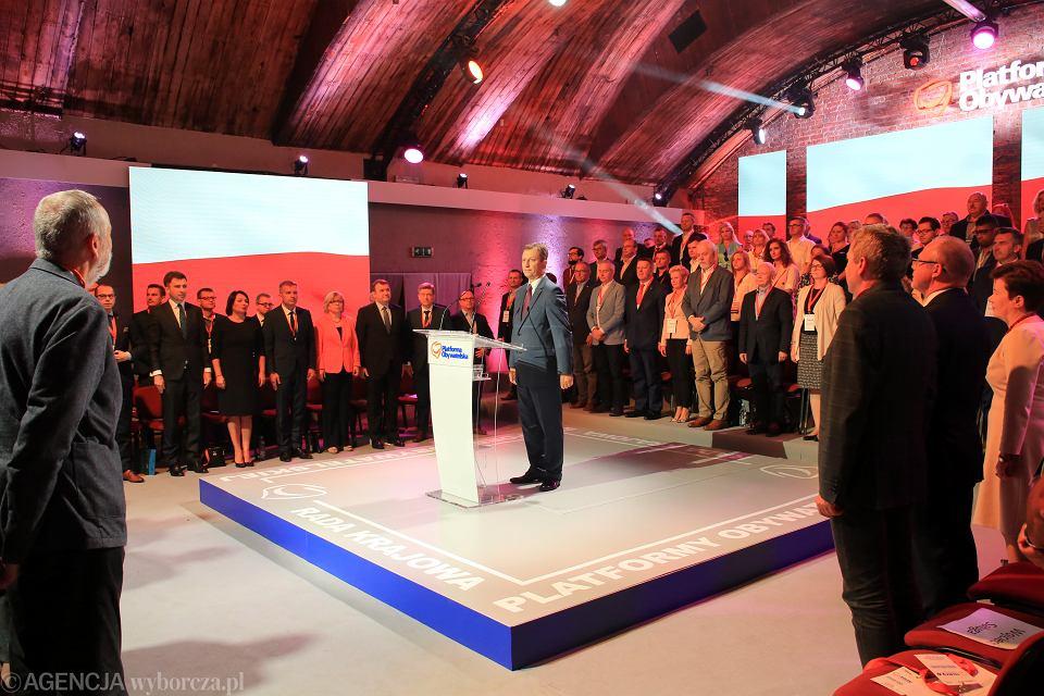 Rada Krajowa Platformy Obywatelskiej