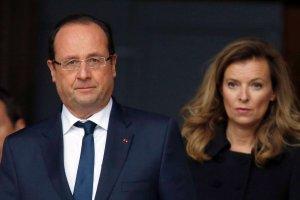 Skandal obyczajowy we Francji. Hollande og�osi�: Rozstaj� si� z pierwsz� dam� Valerie Trierweiler