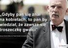 """""""Śmieciowy dyskurs, bylejakość dziennikarstwa i walki w kisielu"""". Czy Olejnik była bezbronna w starciu z Korwin-Mikkem?"""