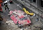 Akcja ratownicza po wybuchu gazu