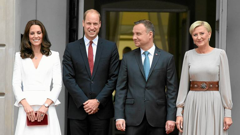Kate i William w Polsce