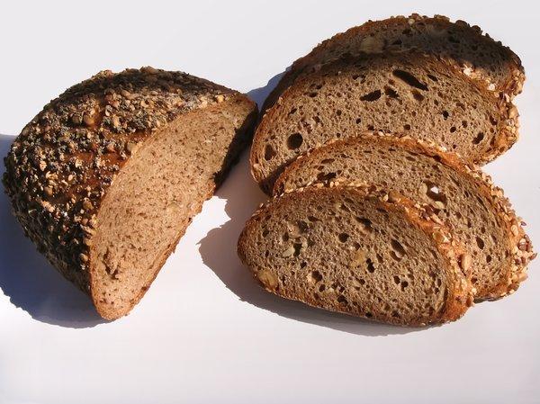 chleb z wysoką zawartością błonnika