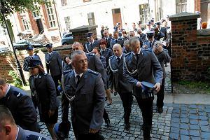 Niebiesko na Starówce, tak świętują policjanci [ZDJĘCIA]