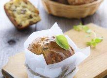 Muffiny z pieczarkami - ugotuj