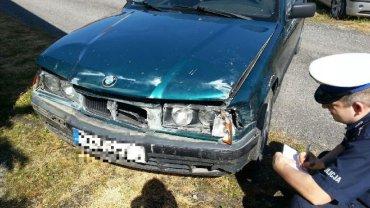 27-letni kierowca BMW uciekał przed policją przez trzy powiaty
