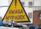 Wiceszef polskiej policji mia� wypadek w Ostr�dzie
