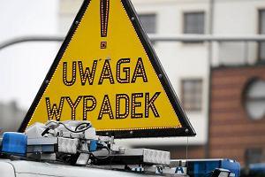Tragiczny wypadek: volkswagen śmiertelnie potrącił rowerzystę